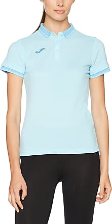 Joma Womens Bali II Polo, Light Blue, XL