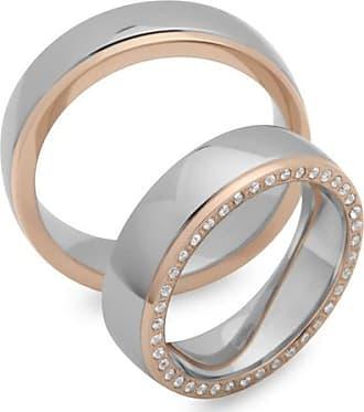 6 mm Edelstahl Fingerring glänzend mit Rillen Ring SIZE 17,8-21,8 mm