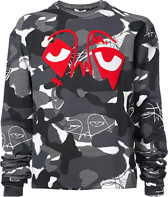Haculla camouflage print sweatshirt - Grey