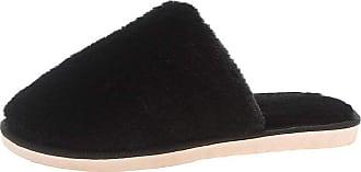Yvelands Womens Winter Breathable Sweat-Absorbing Non-Slip Slippers Indoor Outdoor Women Shoes Black