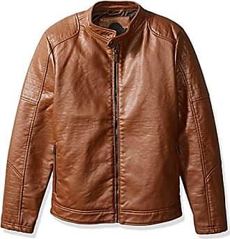 Urban Republic Mens Buffalo Pu Jacket, red, M
