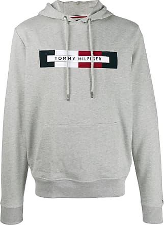 Tommy Hilfiger Herren Pullover Embroidered Big Graphic Cneck