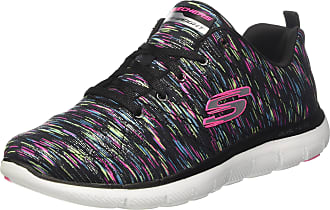 Skechers Tênis Skechers Flex Appeal 2.0 Reflection Feminino - Preto - 34