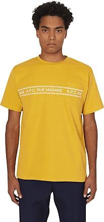 A.P.C. A.p.c. Rue madame t-shirt JAUNE S