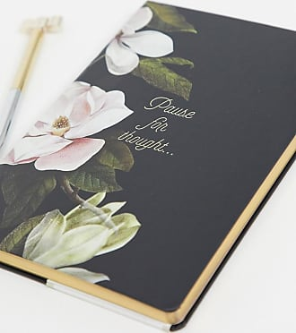 Ted Baker Quaderno A5-Nero