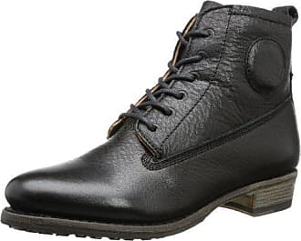 bcdd0bddd28198 Blackstone Damen LACE UP Chukka Boots Schwarz (black) 37 EU