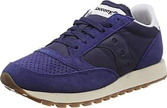 new style c08e8 0c58d Saucony Jazz Original Vintage Chaussures de Gymnastique Femme, Bleu (Navy  1) 39 EU