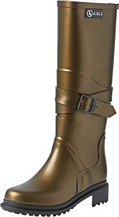 Aigle MACADAMES LOW Bronze Chaussures Bottes de pluie Femme 46