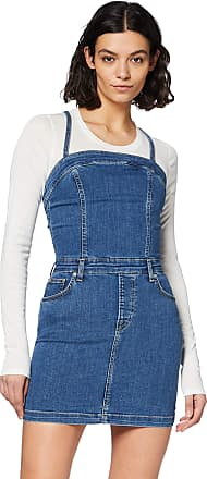 Pepe Jeans London Womens Candi Dress, Blue (000denim 000), Medium