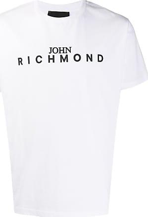 John Richmond T-shirt con stampa - Di colore bianco