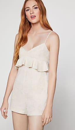 BCBGeneration Sleeveless Peplum Romper