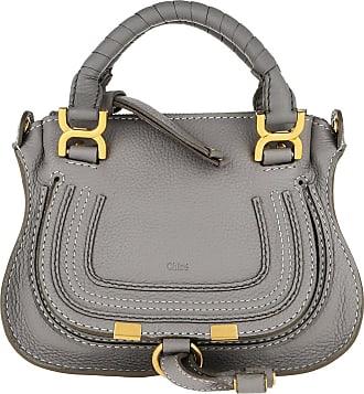 Chloé Mini Marcie Crossbody Bag Cashmere Grey Umhängetasche grau