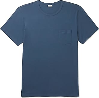 Onia Johnny Printed Cotton-blend Jersey T-shirt - Navy