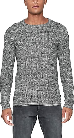 Q/S designed by - s.Oliver Mens 2001211 Jumper, Grey (Grey 98w0), M