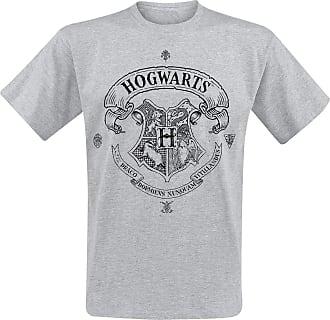 Harry Potter Hogwarts T-Shirt Mottled Grey XXL