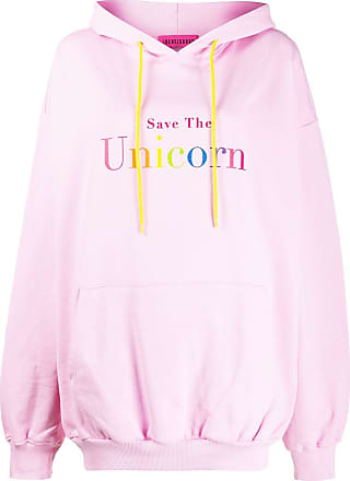 Ireneisgood Moletom Save The Unicorn com capuz - Rosa