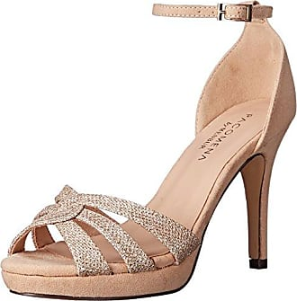 Menbur Womens Annie Platform Dress Sandal Stone 41 EU/10.5-11 M US