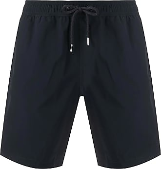 Moncler Black stretch nylon swim shorts