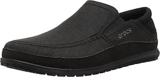Crocs Mens Santa Cruz Playa Slip-On Loafers, Black (Black/Black 060), 6 UK 39/40 EU