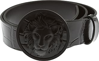 Versace Mens Belts On Sale, Black, Leather, 2017, 34 36