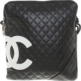 f9d829916ecdb Chanel gebraucht - Ligne Cambon Messenger Bag - Damen - Schwarz - Leder