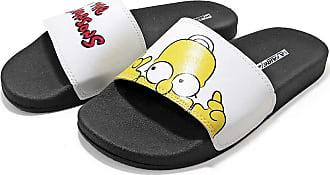 La Faire Chinelo Slide Simpsons La Faire (41/42, Sola Preta)