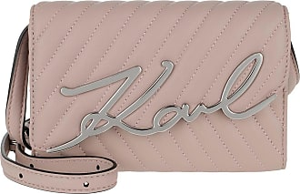 Karl Lagerfeld Belt Bags - Signature Stitch Belt Bag Powder Pink - rose - Belt Bags for ladies