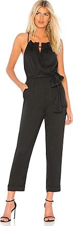 J.O.A. Cross Back Jumpsuit in Black