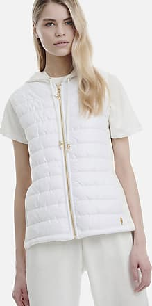 Sugarfree Sleeveless puffed hoodie terry jacket