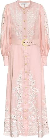Zimmermann Freja embroidered linen maxi dress
