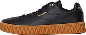 Reebok low profile leather trainers with chunky herringbone tread wraparound sole. CN3239