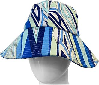 a6b9a58660e Emilio Pucci 1990s Emilio Pucci Abstract Motif Cotton Bucket Hat