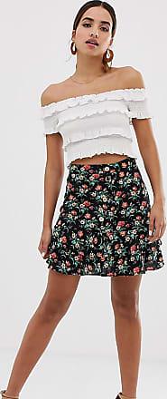 d4c2b71009 Oasis Minifalda escalonada con estampado de florecitas de Oasis