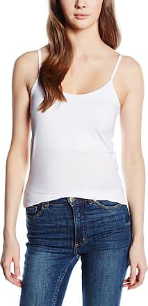 Vila Womens Surface Vest, White (Optical Snow), (Size:Large/X-Large)