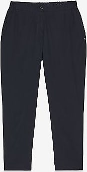 ottod'Ame Navy Baumwolle Capri Hose - 40