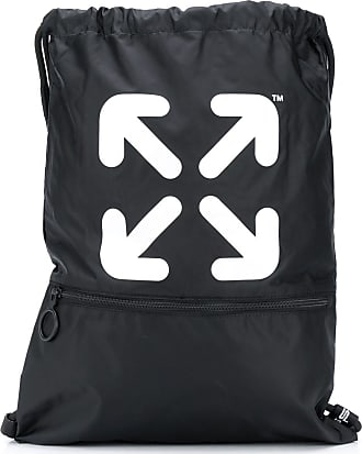 Off-white Arrows drawstring backpack - Preto