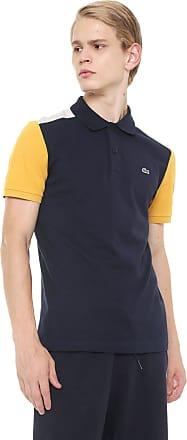 5400d0dd81 Lacoste Camisa Polo Lacoste Slim Color Block Azul-marinho