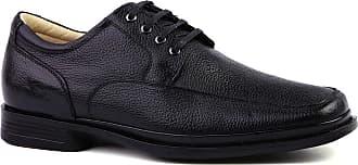 Doctor Shoes Antistaffa Sapato Masculino Social 549203 Anti Impacto em Couro Floater Preto Doctor Shoes-Preto-42
