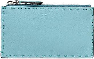 Fendi Carteira Selleria micro - Azul