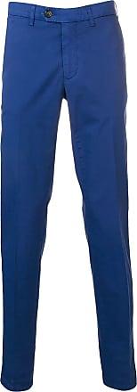 Canali Calça reta - Azul