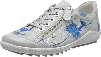Remonte Womens R1402 Low-Top Sneakers, Multicolour (Ice/Offwhite-Blue 92), 10.5 UK