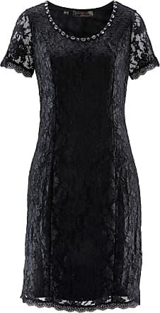 c2f6709e0175 Bonprix Dam Spetsklänning i svart kort ärm - bpc selection premium