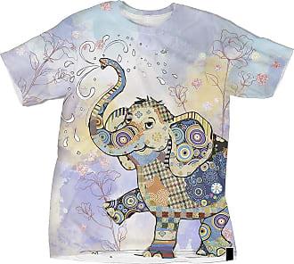 NA Bright Funny Elephant 3D Shirt