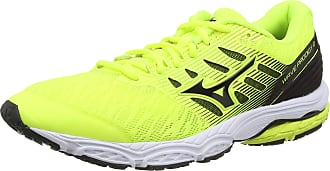 Mizuno Mens Wave PRODIGY 2 Running Shoes, Yellow (Safety Yellow/Blk 09), 11.5 (46.5 EU)