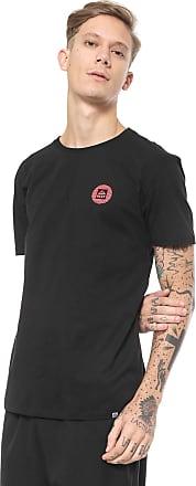 Reef Camiseta Reef Circle Brand Preta