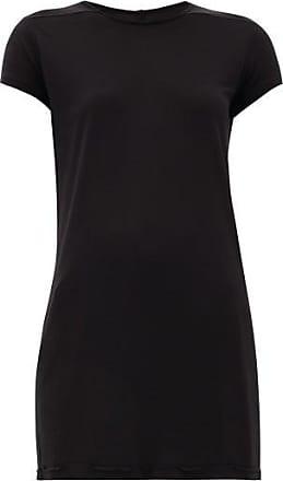 Rick Owens Level Longline Jersey T-shirt - Womens - Black