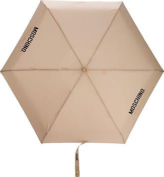 Moschino couture-print umbrella - NEUTRALS