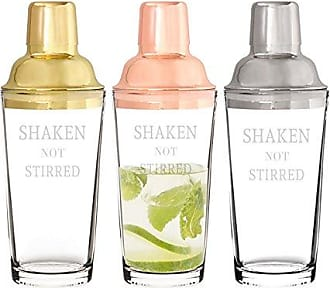 Cathy's Concepts Shaken Not Stirred 20 oz. Cocktail Shaker, Stainless steel
