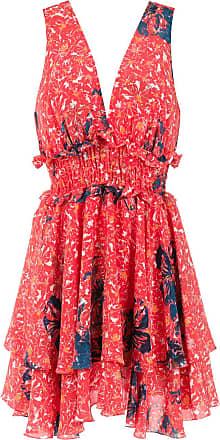 Clube Bossa Vestido curto Freda estampado - Vermelho