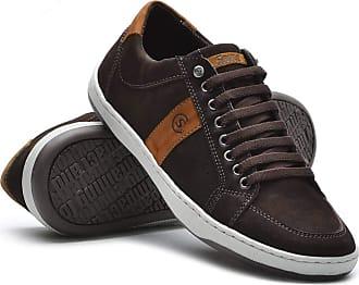 Di Lopes Shoes Sapatênis Noobuck 100% Couro. (40, Marinho)